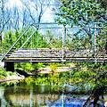 Steel Span Bridge Gettysburg by Bill Cannon