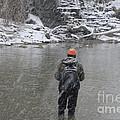 Steelhead Fishing by Randy J Heath