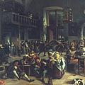 Steen: Merrymaking, 1674 by Granger