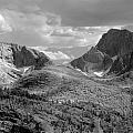 109629-bw-steeple And Temple Peaks, Wind Rivers by Ed  Cooper Photography