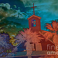 Steeple Bell Tower by Beverly Guilliams