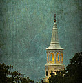 Steeple In A Storm by E Karl Braun