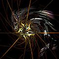 Stellar Spikes by Kiki Art