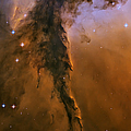 Stellar Spire In The Eagle Nebula by Adam Romanowicz