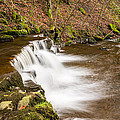 Step In The Scaleber Force Waterfall by David Head