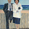 Stepping Out In Atlantic City New Jersey by Pamela Parsons