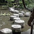 Stepping Stone Kyoto Japan by Thomas Marchessault