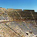 Steps Of The Theatre In The Ruins by Panoramic Images
