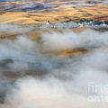 Steptoe Fog Clearing by Mike  Dawson