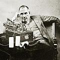 Steve Jobs As Edison by Tony Rubino