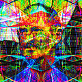 Steve Jobs Ghost In The Machine 20130618 Square by Wingsdomain Art and Photography