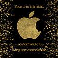 Steve Jobs Quote Original Digital Artwork by Georgeta Blanaru