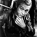 Steve Mcqueen Hand On Chin by Retro Images Archive
