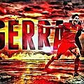 Steven Gerrard Liverpool Symbol by Florian Rodarte