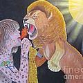 Steven Tyler Versus Lion by Jeepee Aero