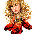 Stevie Nicks by Art