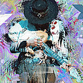 Stevie Ray Vaughan #4 by Donald Pavlica