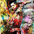 Stevie Ray Vaughan Original by Ryan Rock Artist