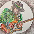 Stevie Ray Vaughn by Breyhs Swan