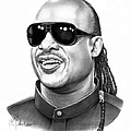 Stevie Wonder by Murphy Elliott