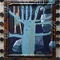 Sticker Tree - Framed by Nancy Mauerman