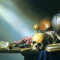Still Life An Allegory Of The Vanities Of Human Life by Harmen van Steenwyck