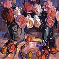 Still Life Apres Manet by David Lloyd Glover