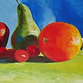 Still Life Fruit by Mike Jory