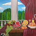 Still Life Fruits by Mehveen Khan