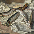 Still Life Of Fish, 1928 by Roger Eliot Fry