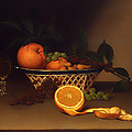Still Life With Oranges by Mountain Dreams