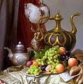 Still-life With A Glass Of Dutch by Sevrukov