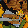 Still Life With A Guitar by Mountain Dreams