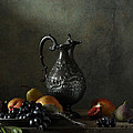 Still Life With A Jug And A Snake by Diana Amelina