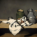 Still Life With A Kettle by Mountain Dreams