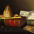 Still Life With A Writing Table by William Michael Harnett