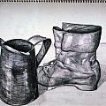 Still Life With Boot by Paul Gioacchini