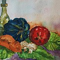 Still Life With Bottle by Ellen Levinson