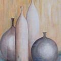 Still Life With Bottles by Barbara Jacquin