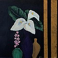 Still Life With Calla Lilies by Barbara Griffin