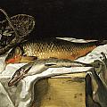 Still Life With Fish by Frederic Bazille