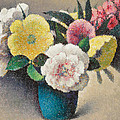 Still Life With Flowers by Felix Elie Tobeen