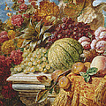 Still Life With Fruit by George Lance
