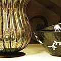 Still Life With Golden Vase by Ben and Raisa Gertsberg