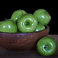 Still Life With Green Apples by Nikolyn McDonald