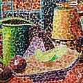 Still Life With Green Jug Painting by Caroline Street