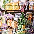 Still Life With Irises by Trudi Doyle