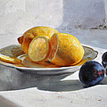 Still Life With Lemons by Dmitriy Kalujni