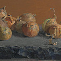 Still Life With Onions  by Ben Rikken
