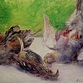 Still Life With Pheasants  by Pierre Auguste Renoir